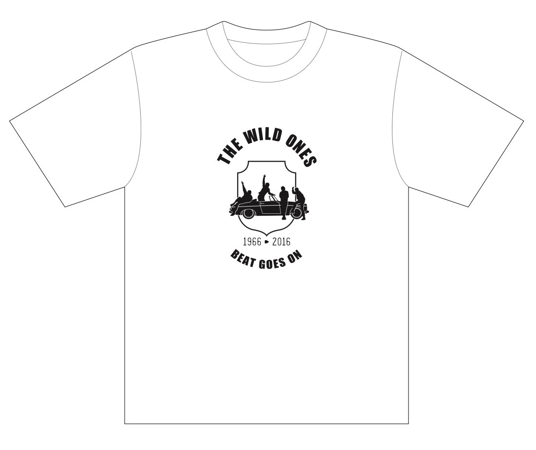 50th記念Tシャツ(限定販売)