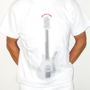 Tシャツ(12弦ギター・白)