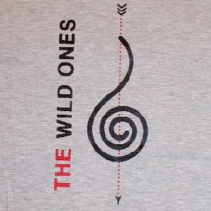Tシャツ(音符記号・グレー)